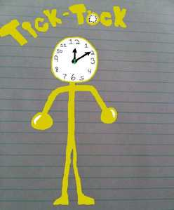 Tick-Tock's Powers: Can stop time, and can select who can walk through time with him. He can only sto