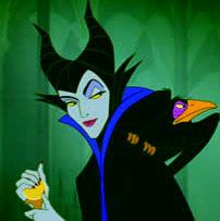 Here is mine! Maleficent's always been my kegemaran :)