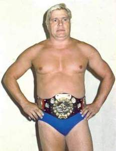 P - Pat Patterson (WWE hall of fame).. First-ever Intercontinental Champion..
