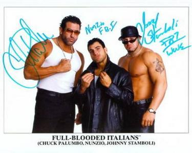 F - FBI (Full-Blooded Italians)