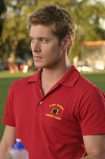 here's one (: Weiter - jensen wearing normal glasses