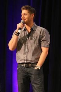 Jensen on a talk show! ;-D