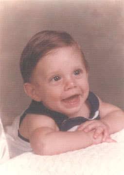 Jensen as a teenager