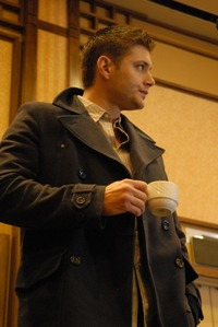 Hope this one is good enough? ;-D  Jensen singing...