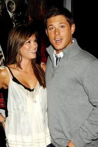 Jensen and an ex girlfriend before danneel