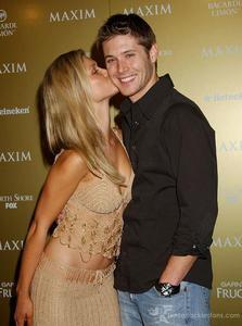 Jensen with Jaime King