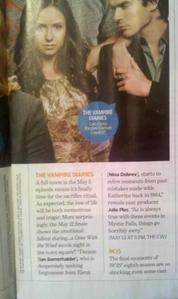Scan of some season finale spoilers. [i]Key points[/i] - There is going to be a 'Gone with the Wind
