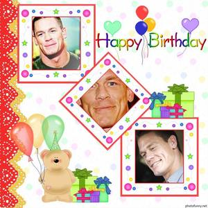 ★★★ [b]HAPPY BIRTHDAY CENA![/b] ★★★ ♡ ♡ ♡ My heartiest wishes to آپ on your Birthd