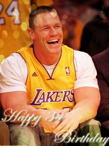 Happy birthday JOHN CENA!!