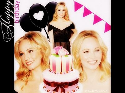 Happy Birthday to you, Happy Birthday to you, Happy Birthday dear [u]Candice[/u] Happy Birthday to