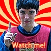 8/10 That twig infront of his face makes it look like he has a unibrow :D You. Will. Watch. Merlin.