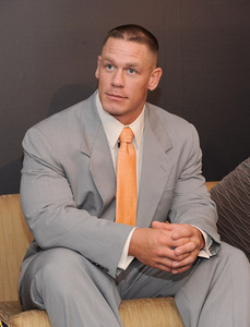 NEXT : John cena with white hairs