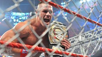 here is my champ  next :john cena with micheal cole