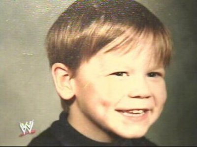he was so cute in his childhood next :john cena with his four bros