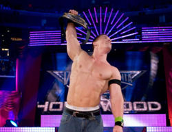 Nxt: John Cena at make a wish foundation on 200 wishes