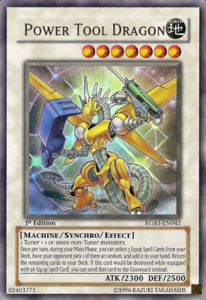 8/10 suivant is my favori card. Power Tool Dragon.