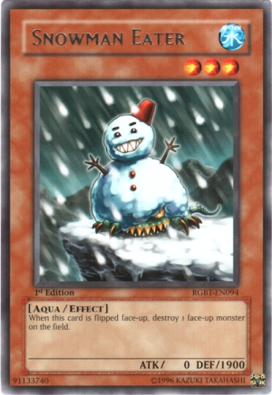 5/5 Snowman Eater