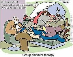 and we are shelling out big bucks for our group therapy