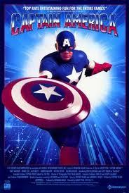 Captain America was training for the Olympic Games (specialty: discus throw)