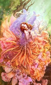 This is a magical world calld Tulopia.It has a queen Fairy.Fairy queens of winter,spring,autome and s