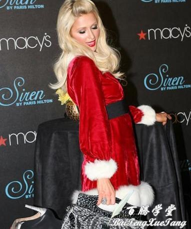 Paris Hilton Sexy Star Wear Christmas Dress Women S