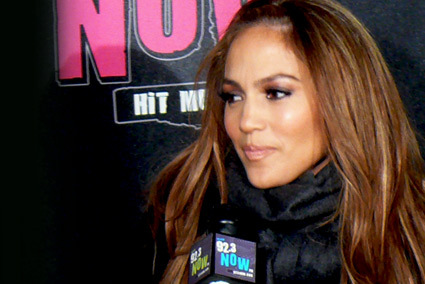 Jennifer Lopez Rolls Into The 92.3 NOW Studio<br /> <br /> New York's homegrown superstar, Jennifer