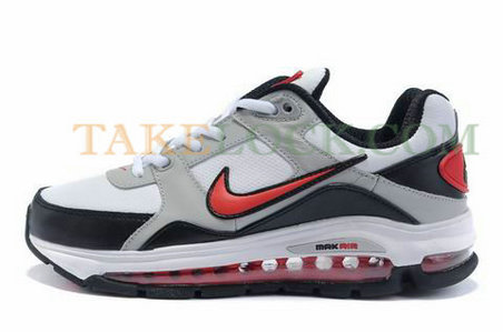 Nike Air Max Ultimate uses a large air cushioning unit at the heel which is visible from the side of