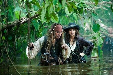 NEWS PICTURES PIRATES OF THE CARIBBEAN 4! AND OFFICIAL TRAILER! JOHNNY DEPP - PENELOPE CRUZ - GEOFFRE