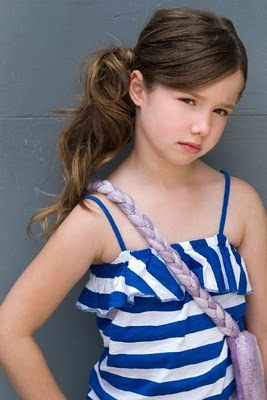 Kayla D. might get the part of Renesmee Cullen when in my opinion looks nothing like Nessie !!!!!!! S