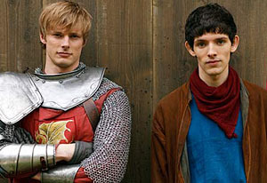 A game just for fun...doesn't have to be merlin related. Can be anything. All TV shows or other stuff