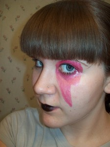 anda know you've tried to copy one of GaGa's crazy makeup schemes. Let's see who done it best! Post a