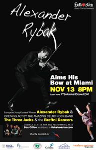 Alexander is coming to Miami to perform a one night only دکھائیں November 13, 2010. The دکھائیں will be at