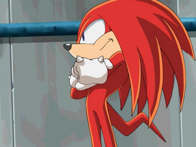 have u noticed that the yugioh voice acter is the same voice acter as knuckles from sonic x? gimme ur
