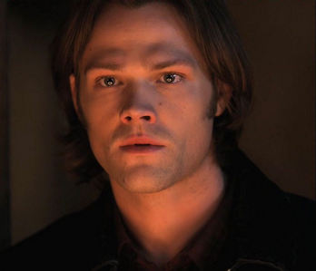 I LOVED how you could plainly see the holy fire ring reflecting in Sam's eyes. O my God, that was fan
