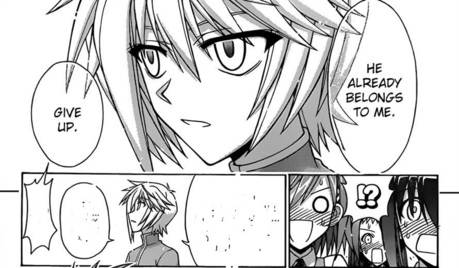 [SPOILER ALERT!?] (I think) In chapter 336, Fate tells Makie,Yue, Nodoka, and Natsumi that Negis is
