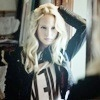 Here's Candice Accola (Caroline Forbes).