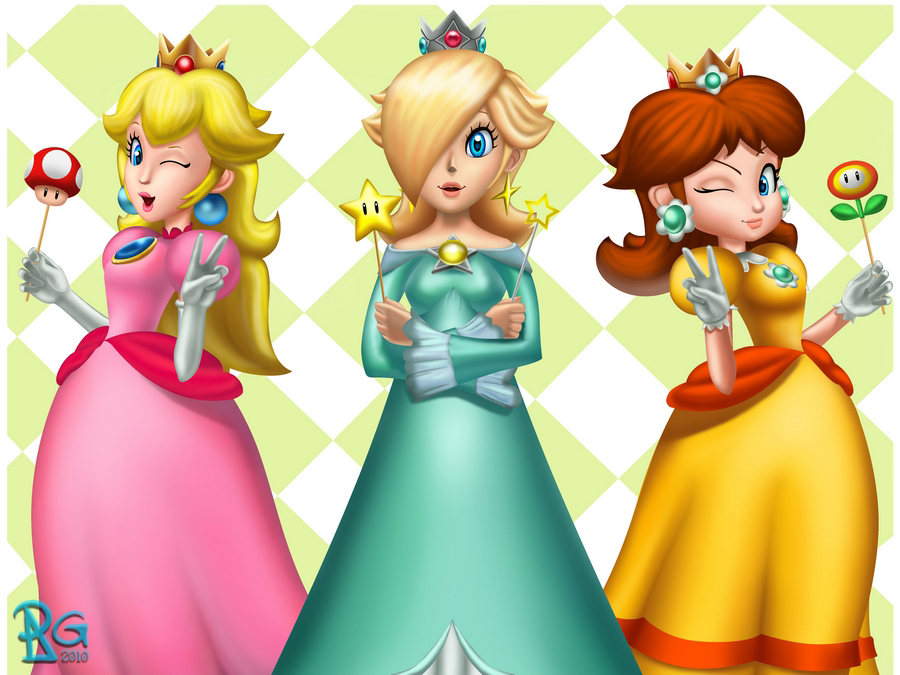 Turning over a new leaf peach and daisy fanpop page 13 - Princesse mario bros ...