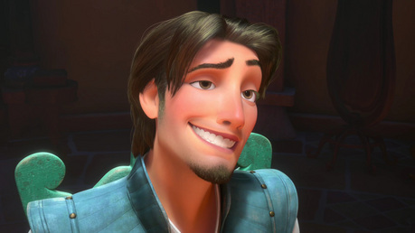 Do あなた that Flynn's hair was based on Byron Howard's hair (you know, the director of Tangled). That w