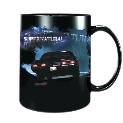 <b><u>Supernatural Tail Lights Mug</u></b> <u>Price:</u> $10.00 Glowing tail lights drive off i