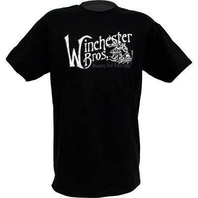 """<b><u>Supernatural """"Winchester Brothers"""" Adult Black T-Shirt</u></b> <u>Price:</u> $24.95 加入"""