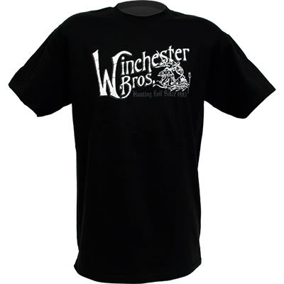 Merchandise Winchester Brothers Quot Adult Black T Shirt