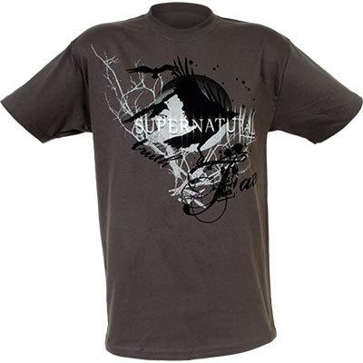 "[b][u]Supernatural ""Crows"" Adult T-Shirt[/u][/b] [u]Price:[/u] $24.95 Capture the mystery and mood"