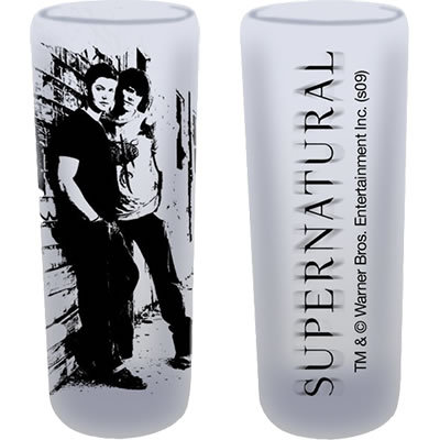 [u][b]Supernatural Sam & Dean Shooters (Set of 2)[/b] Price:[/u] $14.95 Take a shot with Sam & Dean