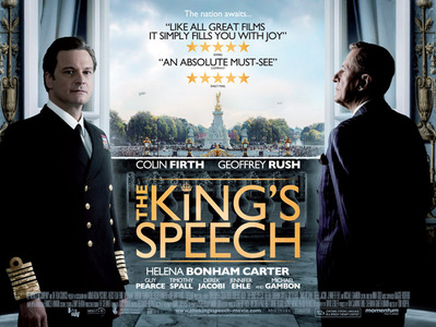 हे guys!!! So as we all know, The King's Speech is leading the 2010 Oscars with 12 nominations! Wow