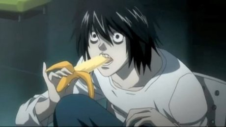 """Gee, lately I've been really hyped on L... Every day, I think, """"Man, I remember back when Death Note"""