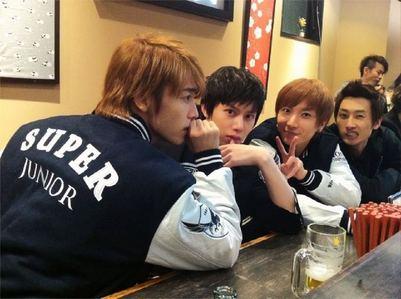 >> ラーメン!! ラーメン!! Super Junior ラーメン!! Hae & Hee & Teuk & Hyuk In 横浜!!