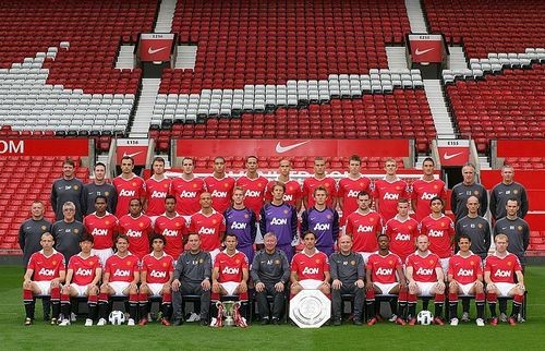 2010-2011 TEAM - manchester-united Photo