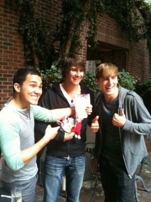 Big Time Rush in NYC