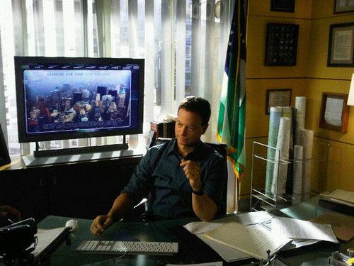 CSI: NY - S7 BTS Pics from Gary Sinise