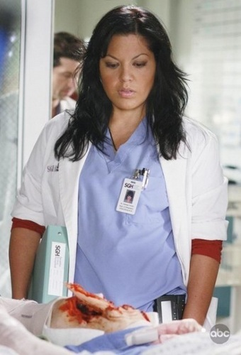 Weibliche TV-Figuren Hintergrund entitled Callie Torres - Greys Anatomy